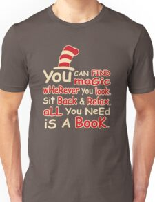 You Can Find Magic in Book Unisex T-Shirt