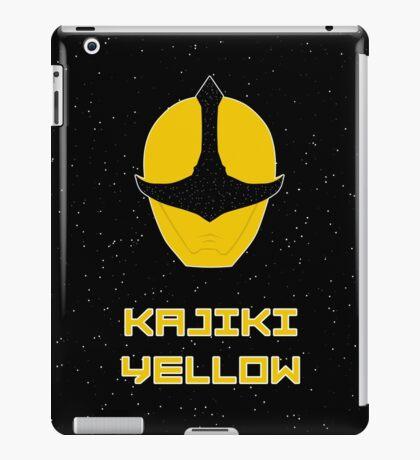 Kyuranger - Kajiki Yellow iPad Case/Skin