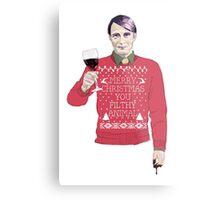 A Very Hannibal Christmas  Metal Print