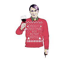 A Very Hannibal Christmas  Photographic Print