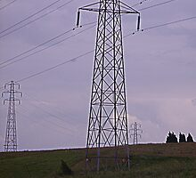 pylons by larathedog