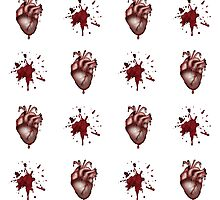 Alternative Anatomical Bleeding Heart Design  by DemonicCupcake