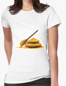Turmeric Womens Fitted T-Shirt