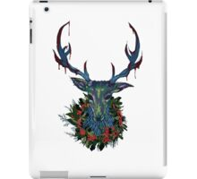 Deck the RavenStag with Boughs of Holly iPad Case/Skin