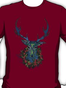 Deck the RavenStag with Boughs of Holly T-Shirt