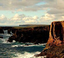Cliffs Of Eshaness by Gary Buchan