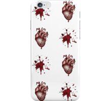 Alternative Anatomical Bleeding Heart Design  iPhone Case/Skin