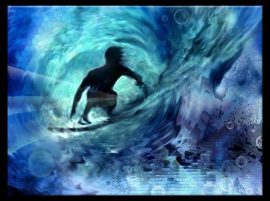 Surf Light by Cliff Vestergaard