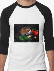 Mustard seeds Men's Baseball ¾ T-Shirt