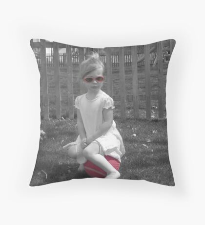 So Retro Throw Pillow