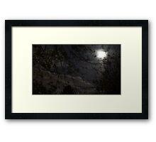 Mystery Moon Framed Print