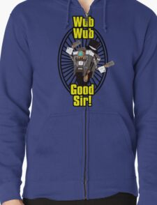 Wub, Wub, Good Sir! Zipped Hoodie