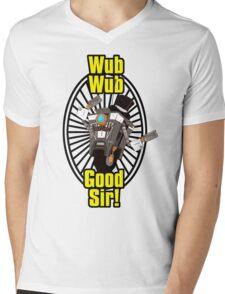Wub, Wub, Good Sir! Mens V-Neck T-Shirt