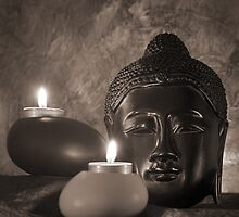 Still life with Budda by nsoup