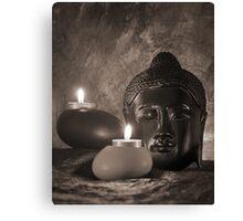 Still life with Budda Canvas Print