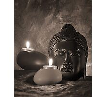 Still life with Budda Photographic Print