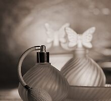 Still life with Perfume by nsoup
