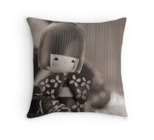 Still life with Doll Throw Pillow