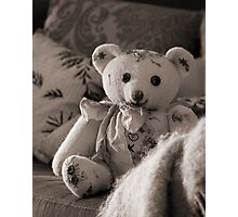 Still life with Teddy Photographic Print