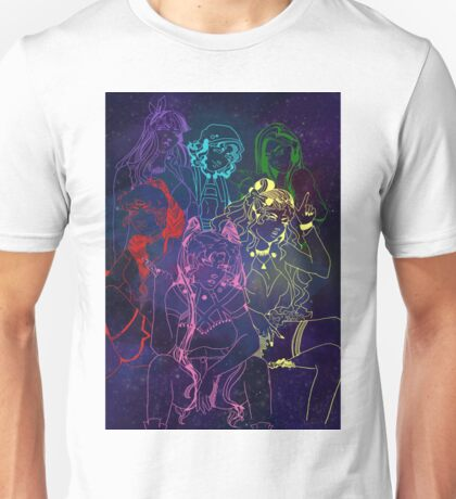 Future Senshi Space Babes!! Unisex T-Shirt