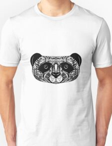 Panda on white background. doodle T-Shirt