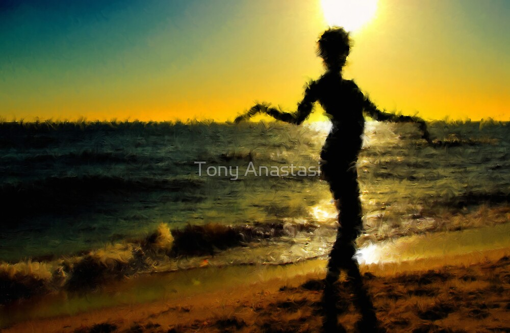 Sunset Dancer by Tony Anastasi