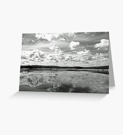 Canning Reservoir - Western Australia  Greeting Card