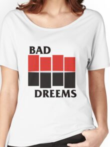 Bad Dreems vs. Black Flag Women's Relaxed Fit T-Shirt