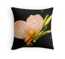 Fire Flower Throw Pillow