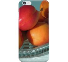 Dish of Delicious Apricots iPhone Case/Skin