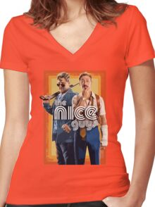 The Nice Guys Women's Fitted V-Neck T-Shirt