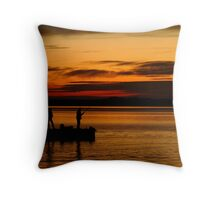 Not Happy! Swan Bay Queenscliff Throw Pillow