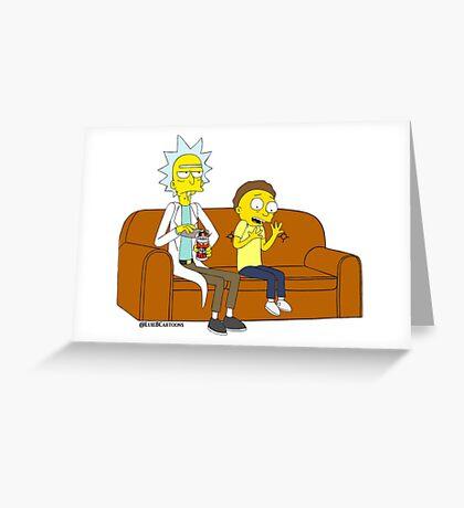 Yellow Rick Greeting Card