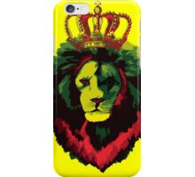 Reggae Rasta Lion. iPhone Case/Skin