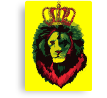 Reggae Rasta Lion. Canvas Print