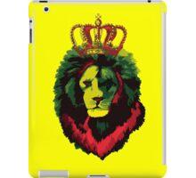 Reggae Rasta Lion. iPad Case/Skin