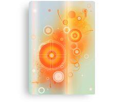 Colour Burn Canvas Print