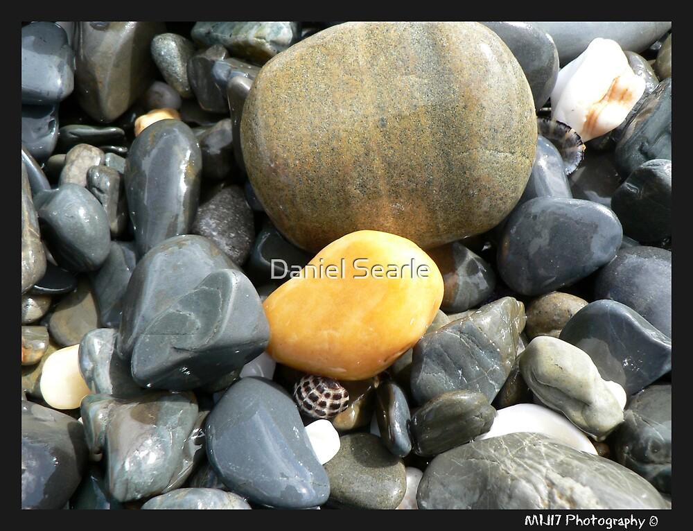Headland Rocks - Woolgoolga , Nsw by Daniel Searle