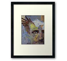 Poe Framed Print