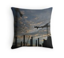 heavy lifting Throw Pillow