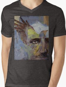 Poe Mens V-Neck T-Shirt