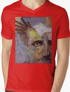 Poe Mens V-Neck T-Shirt