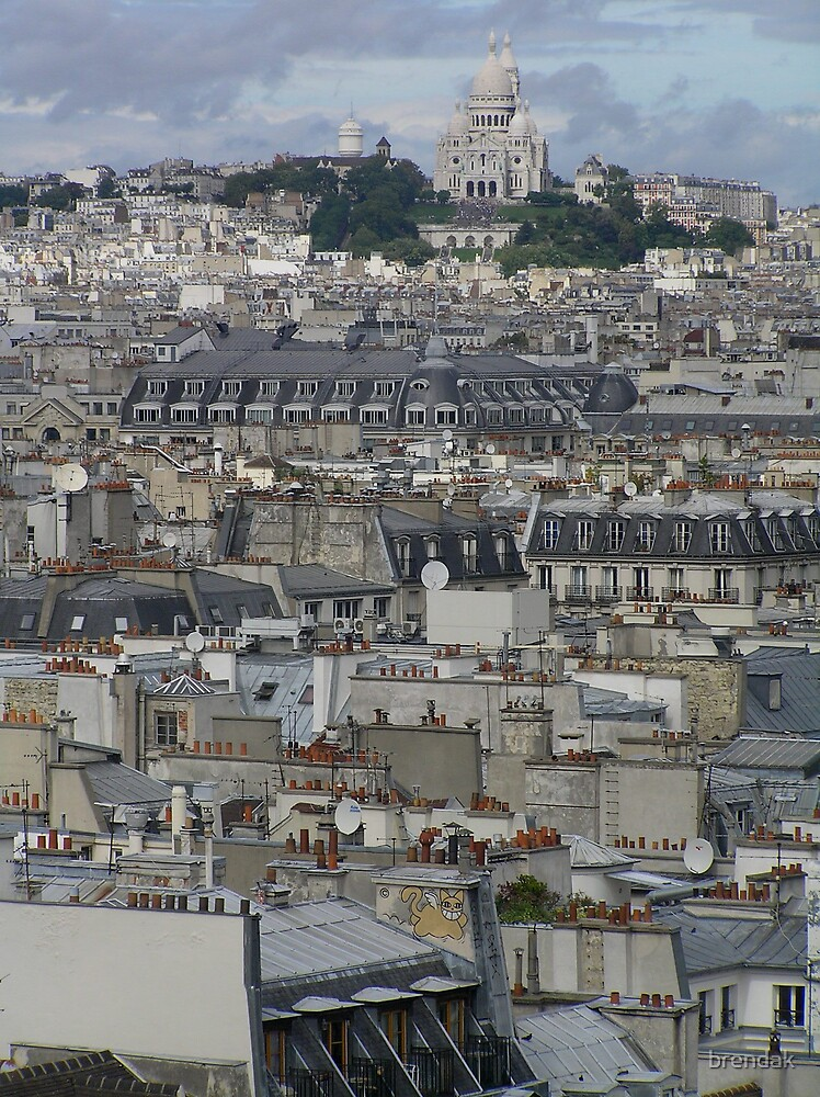 Parisian Skyline by brendak