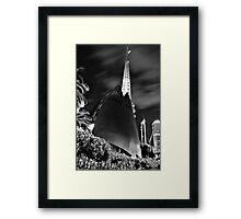 Swan Bell Tower - Perth Western Australia   Framed Print