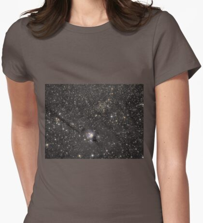 Deep space - reflection nebula IC 5134 among stars Womens Fitted T-Shirt