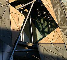 Federation Square - Melbourne - Victoria by Erin McMahon