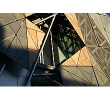 Federation Square - Melbourne - Victoria Photographic Print