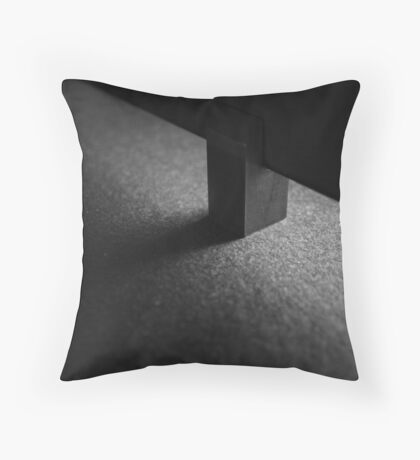 Light and shadow abstract Throw Pillow