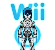 WII ROBOT (OC) by dave falcon