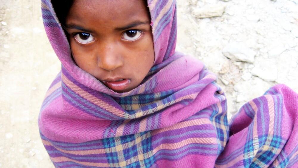 1 nepalese girl by Sasha Mihalova